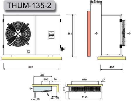 split k hlaggregat thum135z0211 gastrodiscount. Black Bedroom Furniture Sets. Home Design Ideas